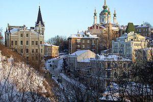 Андреевский спуск – улица «музей», памятник градостроительства Киева