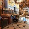 Сферический обзор интерьера Владимирского собора Киева