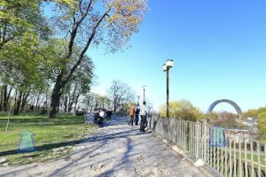 Виртуальный обзор киевский парк Владимирская горка