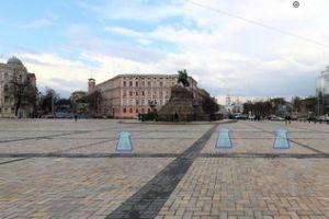 Виртуальная 3D экскурсия по Софиевской площади Киева