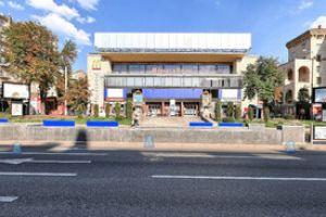 Сферическая панорама 360 возле станции метро Крещатик