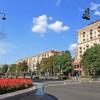 Сферическая панорама улиц Крещатик и Б. Хмельницкого