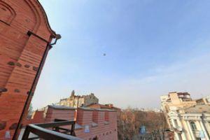 3D панорама прилегающих улиц с киевских Золотых Ворот
