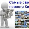Последние новости Киева за сегодня