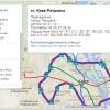Интерактивная схема городской электрички Киева