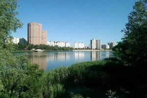 Озеро «Солнечное» в Киеве