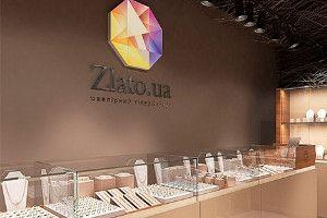 Новый ювелирный магазин Zlato.ua в ТЦ Silver Breeze