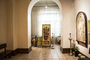 Галерея-ризница «Чудотворные иконы Афона» в Киеве