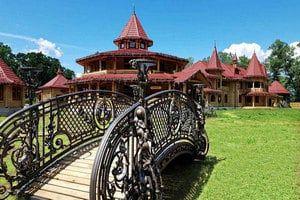 Красивое место для свадьбы — загородный комплекс FORT PIRNOV PARK