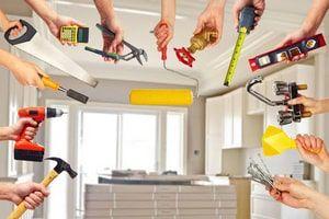 Современные малярные работы – подготовка, выравнивание, покраска стен и потолка