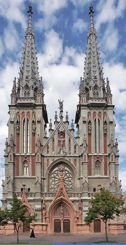Здание костела в Киеве