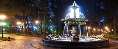 Фонтан Мариинский парк 2