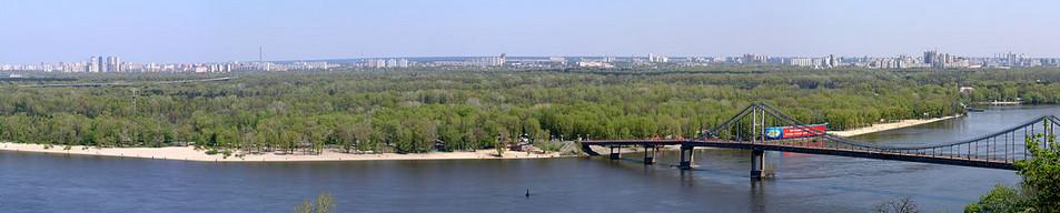 панорама острова Труханов