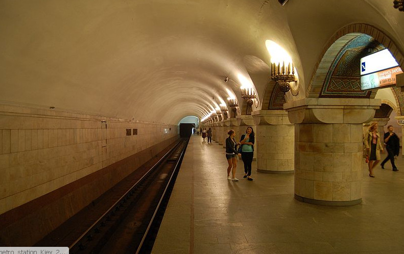 станция метро Золотые Ворота Киев фото