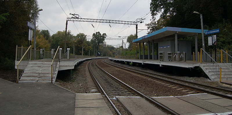 Платформа станции Рубежовский