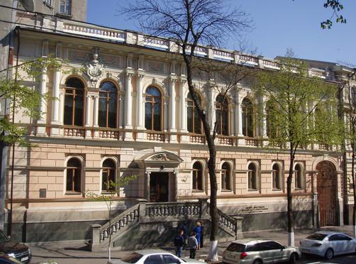 здание музея Ханенко в Киеве