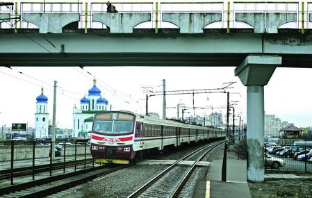 фото городской электрички