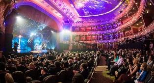 Фотография зала в Национальном академическом драматическом театре им. Ивана Франко