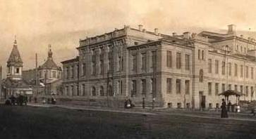 особняк театра оперреты в Киеве