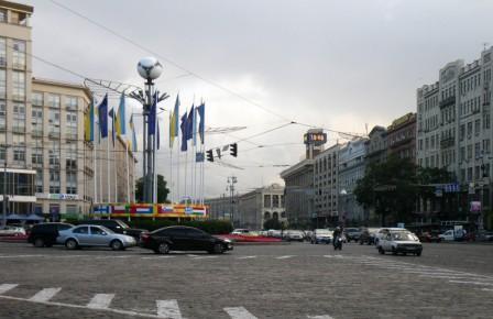 Европейская площадь (начало улицы Крещатик)