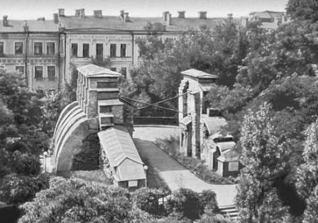 Киевские Золотые ворота до реконструкции
