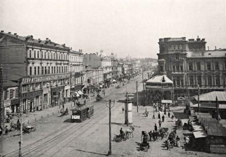Крещатик 1890-е годы