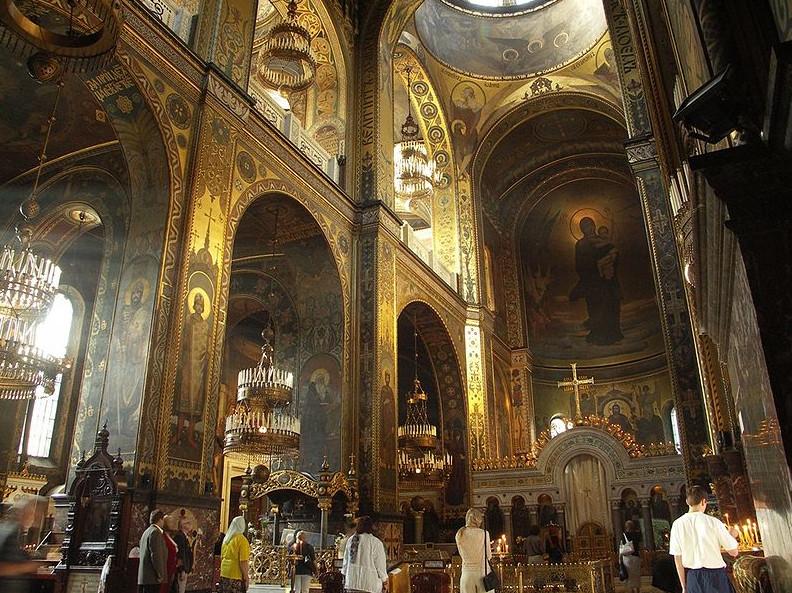 Владимирский собор иконостас