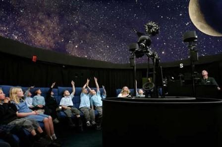 Сеанс звездного неба в помещении Киевского планетария