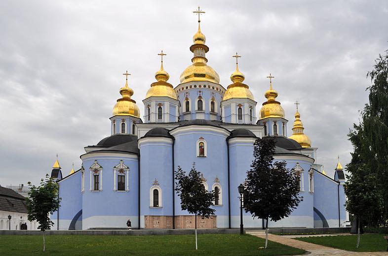 Киевский Михайловский храм