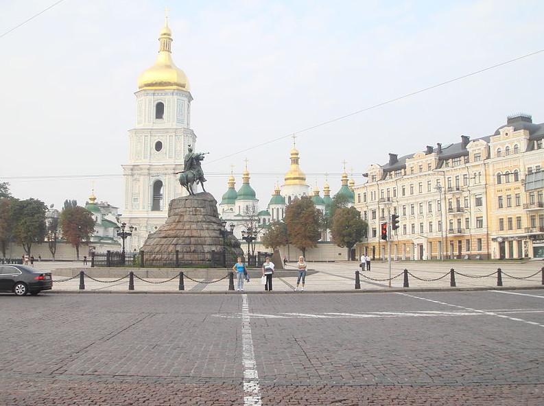 Софийская площадь Киева