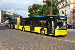 Ттроллейбусы в Киеве
