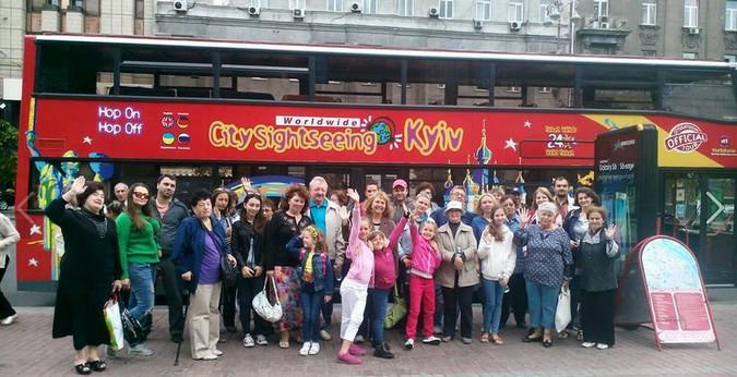 Экскурсия по Киеву на двухэтажном автобусе