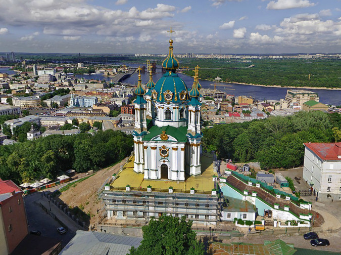 Андреевская церковь что посмотреть в Киеве