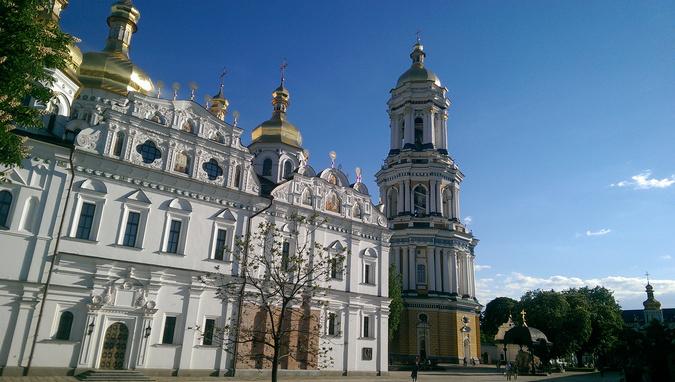 Киево Печерская Лавра Киев