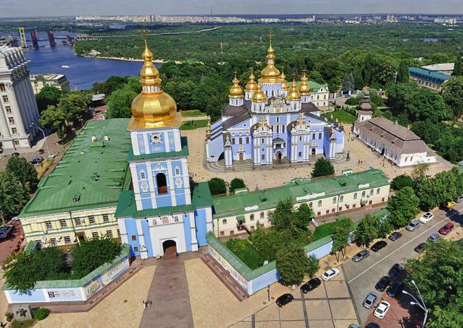 Киевский Свято-Михайловский Златоверхий монастырь - что посмотреть в Киеве