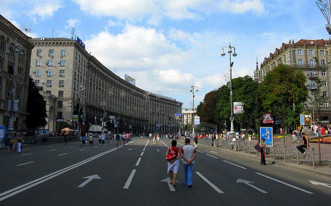 Крещатик экскурсии по Киеву