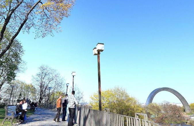 Парк Владимирская горка интересные места Киева