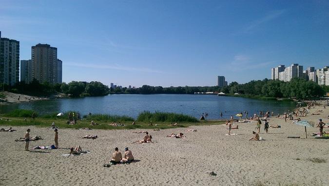 Озеро Солнечное Киев