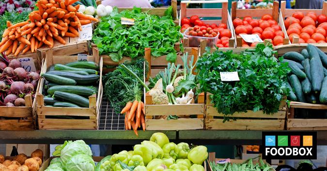 Доставка продуктов из магазинов в Киеве Foodbox