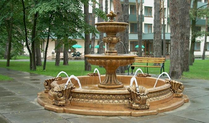 декоративный фонтан для сада купить