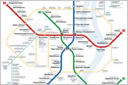 Схемы киевского метро