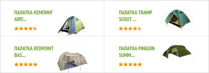 туристические палатки Киев