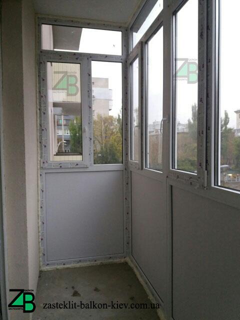 Балкон под ключ Киев недорого