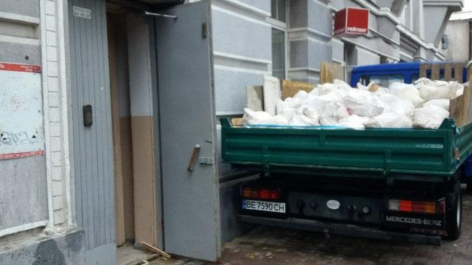 Вывоз строительного мусора в Киеве недорого