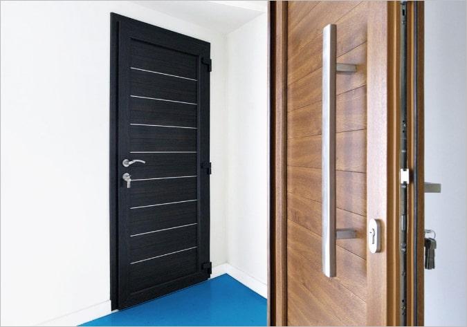 Межкомнатные металлопластиковые двери VEKA