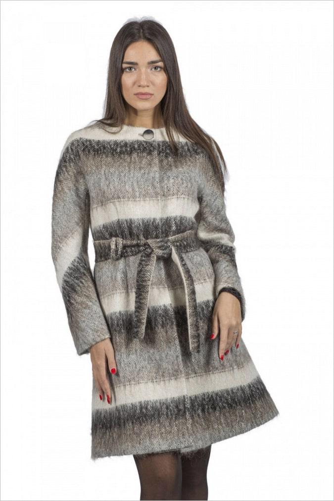 женское пальто шерсть купить