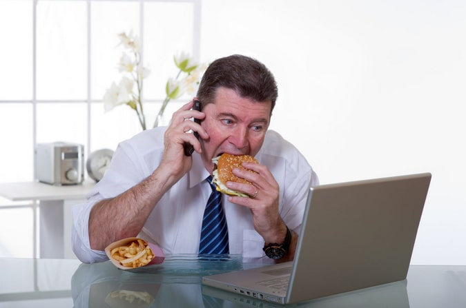 правила здорового питания в офисе
