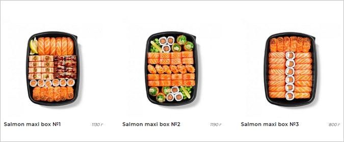 большие наборы суши киев
